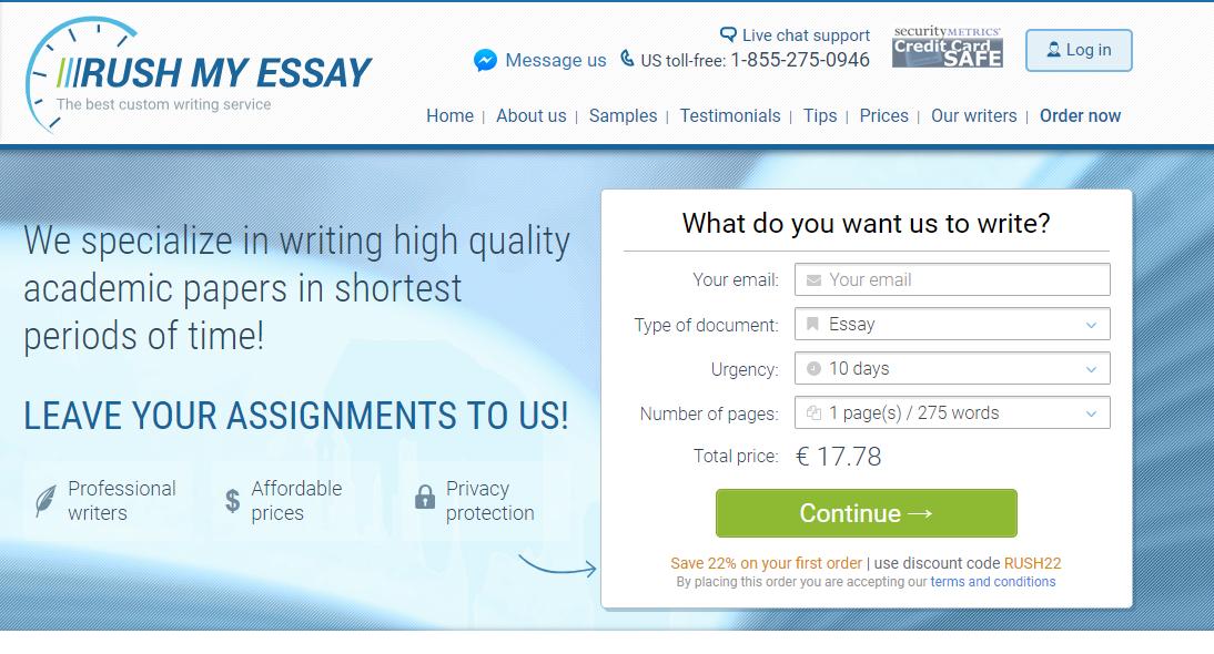 RushmyEssay.com review