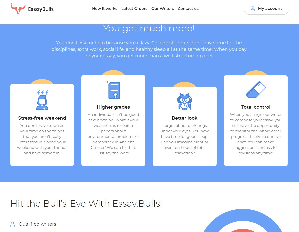 Design and Usability - Essaybulls