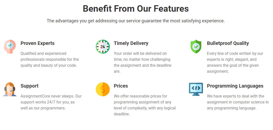 AssignmentCore customer reviews